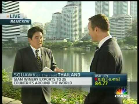 CNBC NEWS interview Mr.Daniel Swarb Commercial Director of Siam Winery
