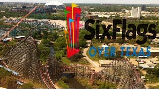 Six Flags Over Texas Tour & Review with The Legend