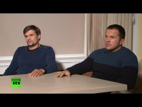 RT показал обвиняемых по делу Скрипалей | #Новости