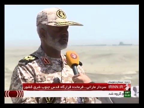 Iran IRGC Great Prophet security border drill, Phase one_April 12, 2016_رزمايش امنيت مرزي سپاه ايران