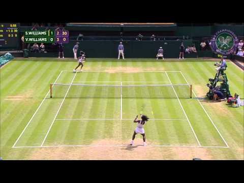 2015 Day 7 Highlights, Serena Williams vs Venus Williams