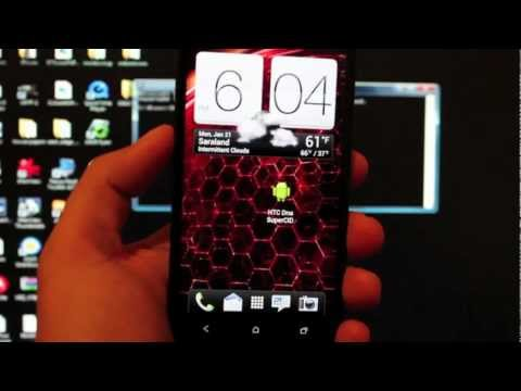 HTC Droid DNA Unlock Bootloader One Click APP Exploit Easiest Method! 1/19/13