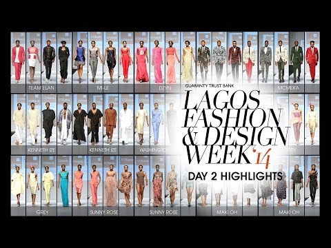 GTBank Lagos Fashion and Design Week 2014, Day 2