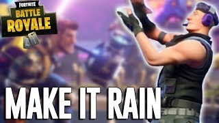 Make It Rain!! - Fortnite Battle Royale Gameplay - Ninja