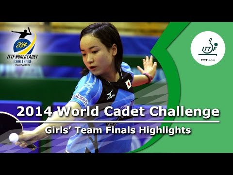 2014 World Cadet Challenge - Girls' Team Finals Highlights