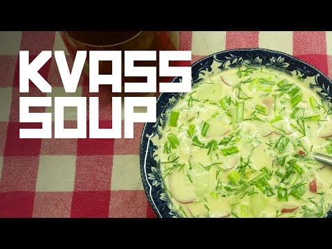OKROSHKA with Kvass (Russian cold soup) - Cooking with Boris