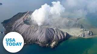 New Zealand volcano erupts while tourists still on island | USA TODAY