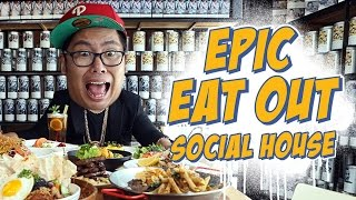 EPIC EAT OUT #1: Going Crazy at Social House | PUTRA SIGAR
