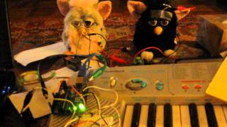 Building the Furby Organ