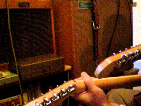 Bigsby double neck guitar Magnatone Triplex model 180 amp Grady Martin