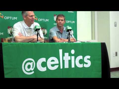 Danny Ainge's Doc Rivers trade press conference (Part 1)