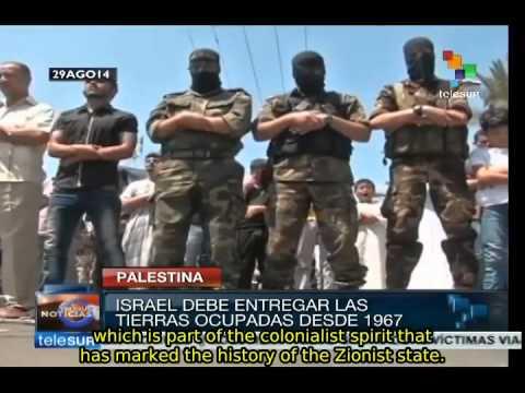 Gazans take the streets celebrating victory over Israel