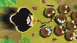 New Crazy Fast OVERPOWERED OSTRICH- Mopeio // how to LEVEL UP FASTER!! with new OP Ostrich
