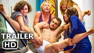 RΟUGH NІGHT TV Spot Trailer (2017) Scarlett Johansson, Zoë Kravitz Comedy Movie HD