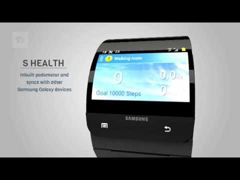 Samsung Galaxy Gear Relogio Celular Conceito 2013