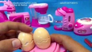 Đồ chơi nấu ăn mini , toy kitchen cooking for American Girl Dolls videos Songs For Children