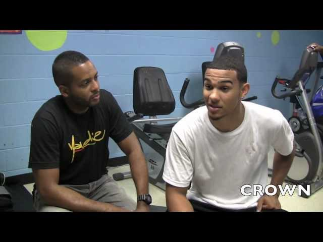 CROWN EXCLUSIVE: CORY JOSEPH Interviewed By Drew Ebanks after Myck Kabongo Eastview C.C. Event