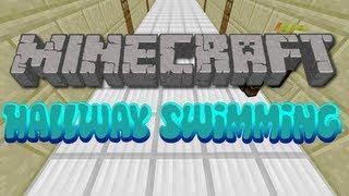 Minecraft Hallway Swimming
