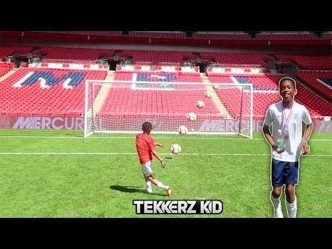 Playing at Wembley | WEMBLEY WORLD CUP 2018 SOCCER CHALLENGE!!