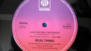 Watch Real Thing Can You Feel The Force video