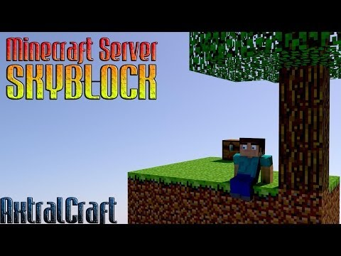 Minecraft Server Skyblock 1.7.2 - 1.7.4   No Premium - No hamachi - 24/7