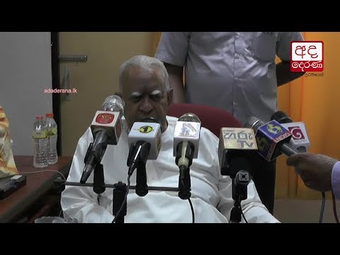 sampanthan ready for|eng