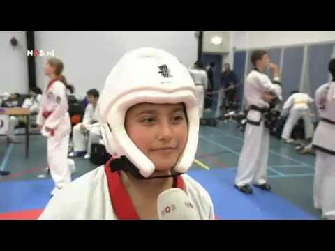Aleyna Oguz  WK Tang Soo Do   Jeugdjournaal