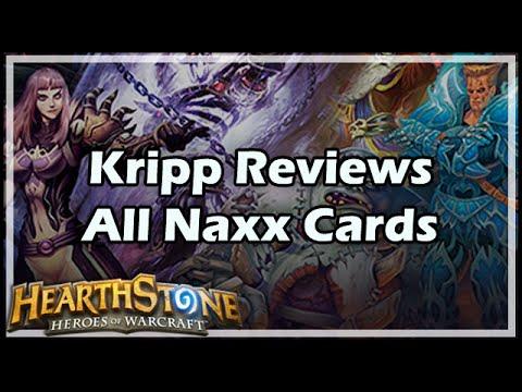 [Hearthstone] Kripp Reviews All Naxx Cards