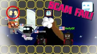 Growtopia - SCAM FAIL PRANK!!!