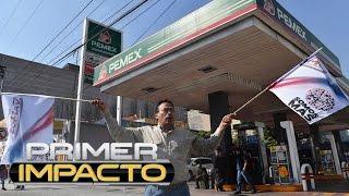Crece la violencia en las manifestaciones de México por el llamado 'gasolinazo'