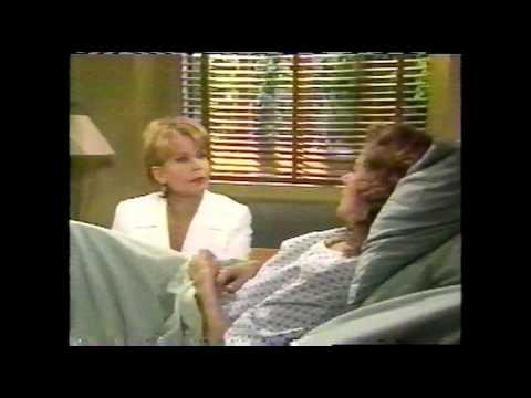 All My Children - 1999 - Brooke Consoles Dixie After Miscarriage