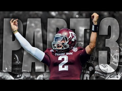 Johnny Manziel Heisman Highlight Video Part 3