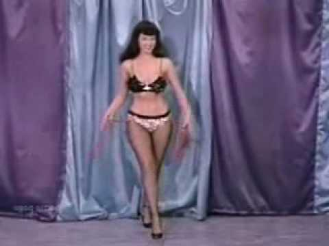 Bettie Page dances to the Seeds Video