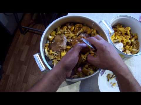 Как солить грибы - видео