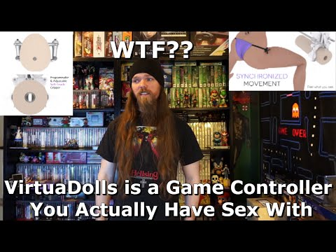 VirtuaDolls is a Game Controller You Actually Have Sex With