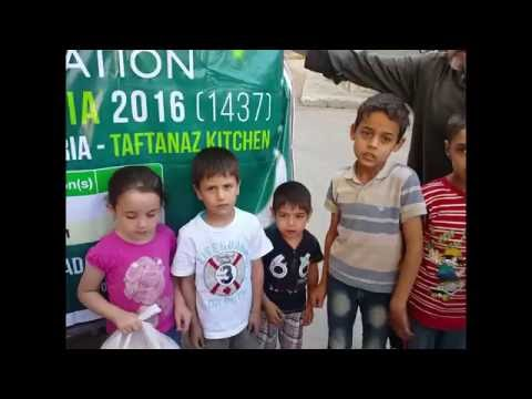 DAY 3 DAILY IFTAR MEALS IN SYRIA - RAMADAN 2016