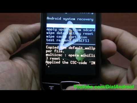 Install ClockworkMod Recovery(CWM5) on Galaxy MiniPOP GSM S5570...