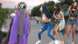 SCARY HALLOWEEN GHOST PRANK #3👻 - Best of Just For Laughs - AWESOME REACTIONS