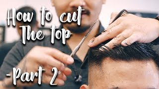S2E5 - How to cut a Regular haircut on top