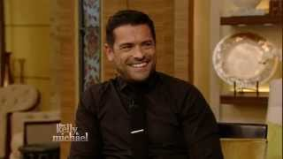 Kelly Ripa and Mark Consuelos talk about his Alpha House Love Scenes