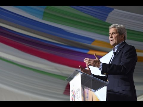 Secretary of State John Kerry at the Aspen Ideas Festival 2016