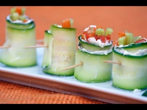 Вегетарианские овощные роллы