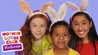 The Finger Family | The Rabbit Family | Mother Goose Club Playhouse Kids Video