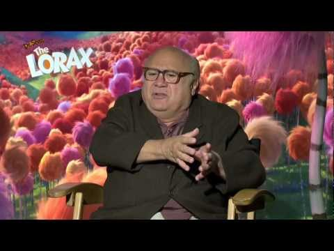 The Lorax: Danny DeVito's Official Sit Down Interview [HD]