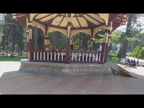 Zenekar a parkban