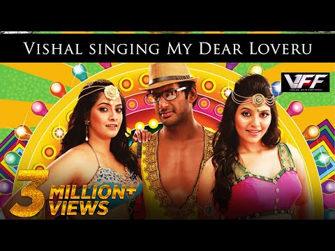 Vishal Singing My Dear Loveru - Madha Gaja Raja Official Promo Video Song In Hd video