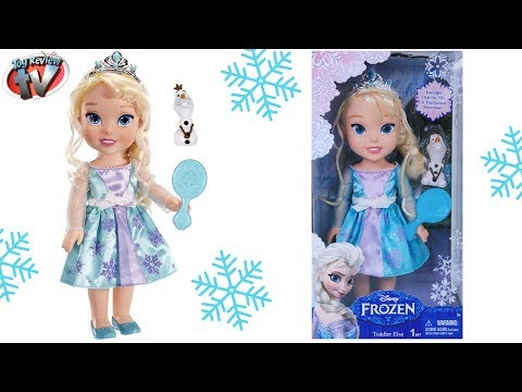 Disney Frozen: Toddler Elsa Large Doll Toy Review. Jakks Pacific
