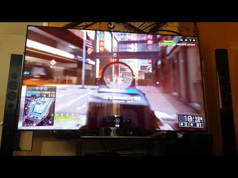 Playing BF4 Ps4 in Tv LED 75