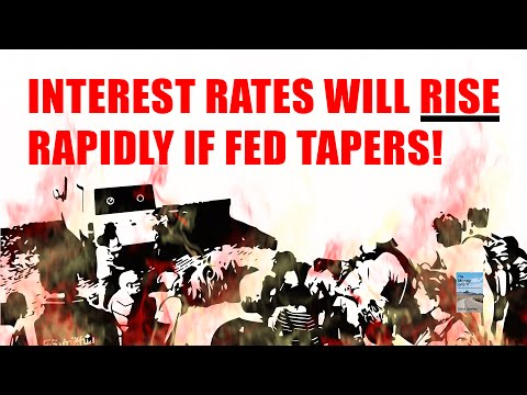 The #1 Reason Why the Fed Taper Will CRASH the Stock Market