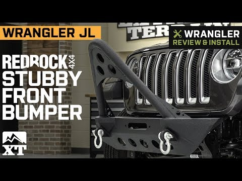 Jeep Wrangler JL RedRock 4x4 Stubby Front Bumper (2018) Review & Install